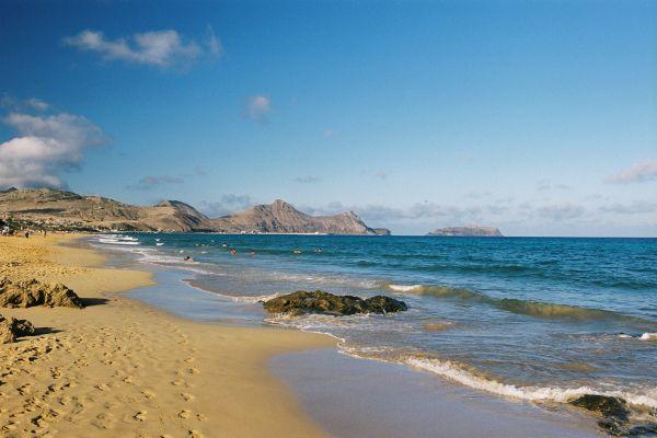 Plage de sable Porto Santo
