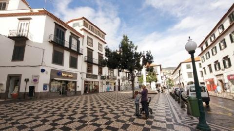 Rue de Funchal Madere