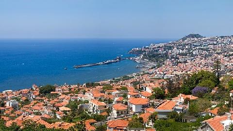 Vue de Funchal Madere