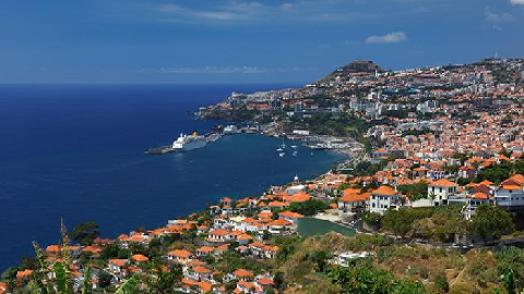Funchal capitale de Madere