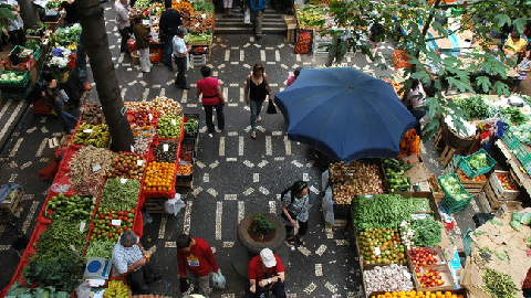 Marché Funchal Madere