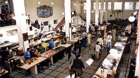 Marché Poisson Funchal Madere