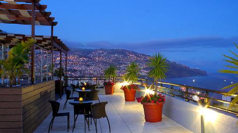 Terrasse Madere Hotel Savoy avril 2015