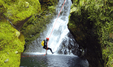 Canyoning à Madere