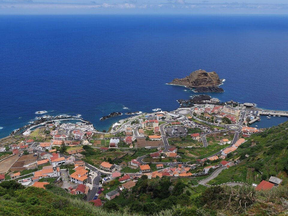 Vue de Porto Moniz